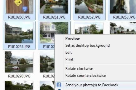Easy Photo Uploader for Facebook Screenshot