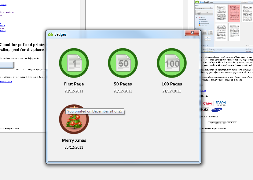 GreenCloud Printer Pro Screenshot