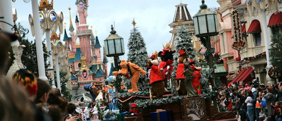 Main Street at EuroDisney, France