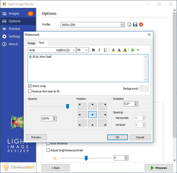 Light Image Resizer, Photo Resizer, Image Converter
